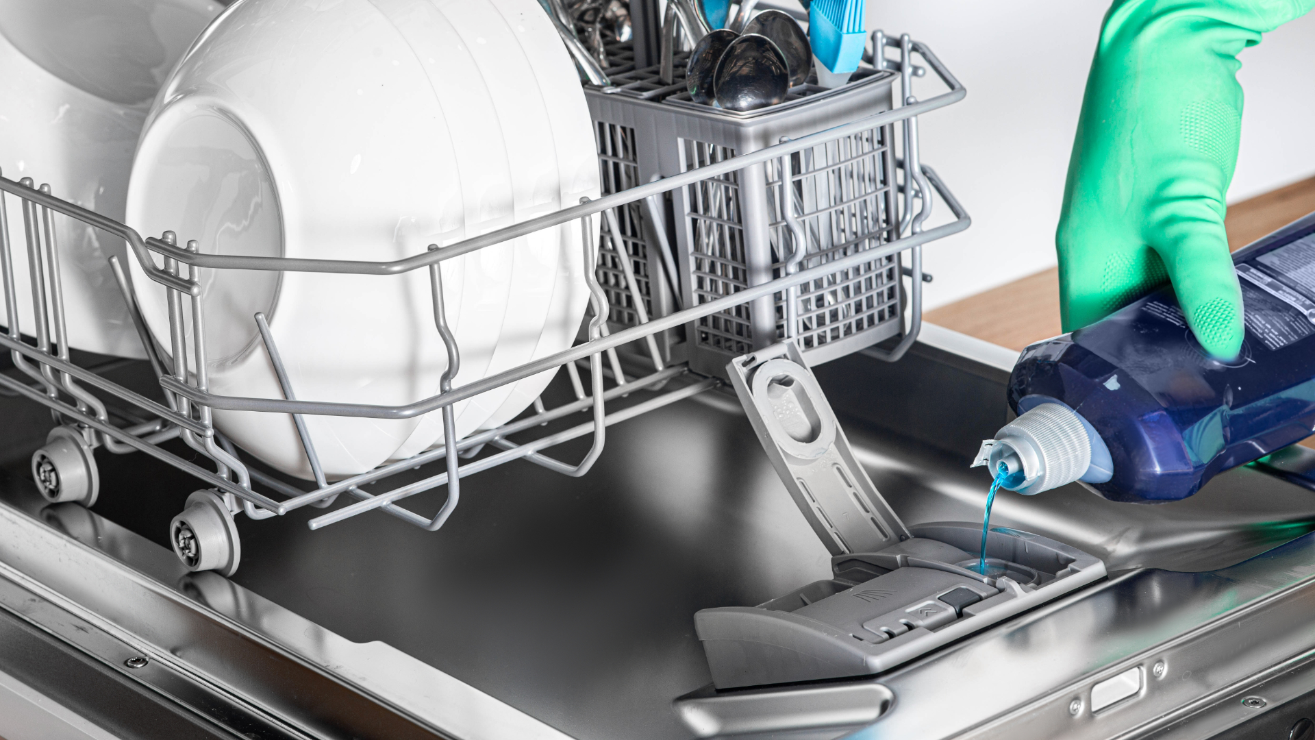 How To Deal With A Leaking Dishwasher Soap Dispenser Fleet Appliance